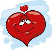 Heart in love — Stock Vector