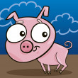 Cute piggy — Stock Vector #4646148
