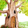 Fairytale Tree — Stock Photo