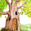Fairytale Tree - Stock Photo