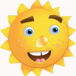Fun Sun - Stock Vector