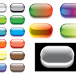 Glass buttons — Stock Vector #3928710