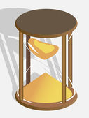 Hourglass — Stock Vector