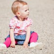 Baby girl outdoor — Stock Photo #4054084