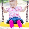 Baby girl outdoor — Stock Photo #4054132