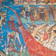 Stock Photo: Last Judgement at Humor Monastery