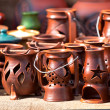 Ceramic souvenirs - Stockfoto