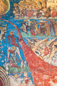 Last Judgement at Humor Monastery — 图库照片
