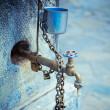 Old water tap - Foto Stock