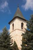 Torn på socialför kloster — Stockfoto