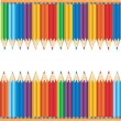 Colourful Pencils — Vetor de Stock  #5371984