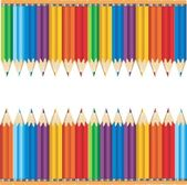 Colourful Pencils — Stock Vector