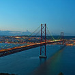 Portugal Bridge on 25 April — Stock Photo #4863474