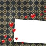 karta miłość — Zdjęcie stockowe #4947336
