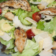 Stock Photo: Caesar salad close up