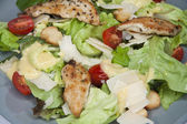 Caesar salad close up — Stock Photo