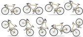 Bicicletas deportivas — Foto de Stock