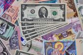 Foreign currency — Stock Photo