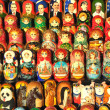 Russian dolls (matrioshka) — Stock Photo