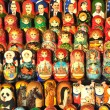 Russian dolls (matrioshka) — Stock Photo #4298187