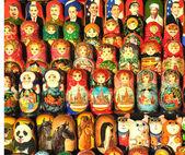 Russian dolls (matrioshka) — Stock Photo