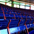 Fenway Park seats - Stock Photo