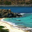 St-Marteen coastline - Stock Photo