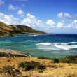 Stock Photo: St-Marteen coastline