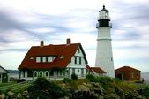 Maine lighthouse — Stock Photo
