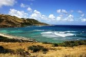 St-Marteen coastline — Stock Photo