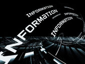 Information Technology Abstract — Stock Photo
