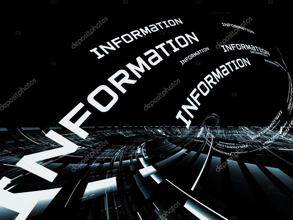 Stock Photo Information Technology Abstract