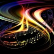 Dynamic Music Abstract — Stock Photo #4887863