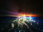 Virtual Reality Abstract — Stock Photo