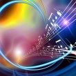 Dynamic Music Abstract — Stock Photo #5236485
