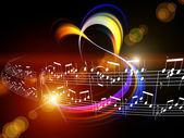 Résumé de la dynamique de la musique — Photo