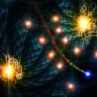 Astrological Abstract Wallpaper - Foto Stock