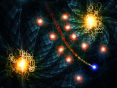 Astrological Abstract Wallpaper — Stockfoto