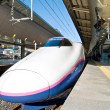 Royalty-Free Stock Photo: Shinkansen at Tokyo station