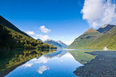 Lake Gunn south island of New Zealand — Stock Photo