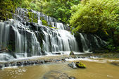 Purakanui Falls Catlins District South Otago — Stock Photo