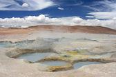 Aguas termales en el desierto — Foto de Stock