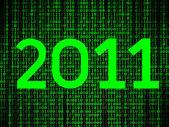Dados de ano novo — Fotografia Stock