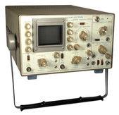 Old oscillograph — Stock Photo