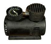 Car air compressor — Stock Photo