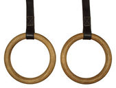 Gymnastic rings — Stock Photo