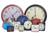 Several clock — Stock Photo