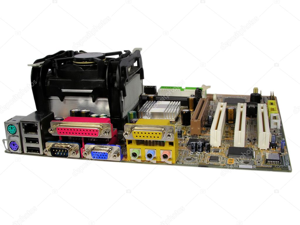 Computer main board — Stock Photo #5017992
