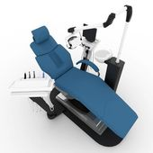 3d dentist chair — Stock Photo