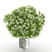 3d Eco energy concept — Stock Photo